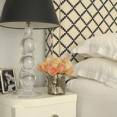 Cream and Black Bedrooms