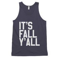 It's Fall Y'all Men's Tank