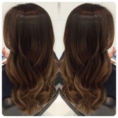 Ombre hair. Iluminado para morenas                                                                                                                                                                                 Mais