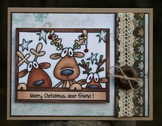 Paper Perfect Designs: SSS134 - Merry Christmas, Deer Friend