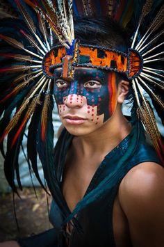 Mexica - Mexico, nahua, dancer, warrior, guerrero, aztec