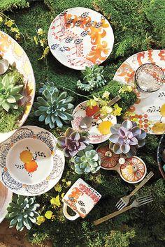 Sun Grove Dinner Plate - anthropologie.com