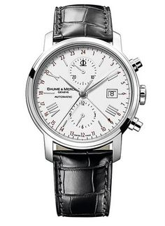Baume & Mercier Classima Executives XL Dual Time Chronograph