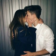 / A R Y A // elegant romance, cute couple, relationship goals, prom, kiss, love, tumblr, grunge, hipster, aesthetic, boyfriend, girlfriend, teen couple, young love, hug image, drinks, lush life, luxury #RelationshipKisses