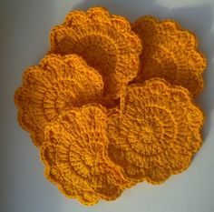 Check out this item in my Etsy shop https://www.etsy.com/uk/listing/236242904/orange-crochet-flower-face-scrubbies
