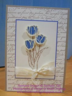 Knall Crafting! Blessed Easter Tulips for any occasion. Paula Knall, Independent Stampin Up Demonstrator