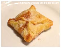 mi rincón de mariposas: Hojaldres de queso de cabra y mermelada