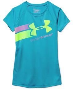 Under Armour Girls Fast Lane T-Shirt 7c2f63286