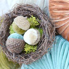 Heart Handmade UK: Alternative Color Palette for Fall   Autumnal Jewelled Velvet Pumpkins from LoveFeast Shop