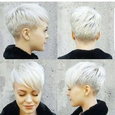"5,584 Likes, 42 Comments - Short Hairstyles   PixieCuts (@nothingbutpixies) on Instagram: ""Pixie 360 on @sarahb.h ☺️☺️☺️"""