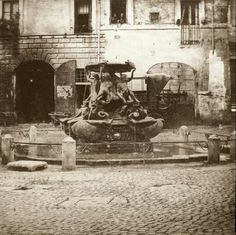 Piazza Mattei Vintage Photography, Rome, History, Painting, Art, Vintage Style Photography, Craft Art, Painting Art, Kunst