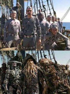 De wonderen van het zilveren doek ;) #pirates #piratesofthecaribean #silverscreen #movie #behindthescenes