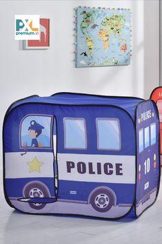 Deti sa radi hraju na skrývačku a tento stan im poskytuje skvelé miesto na skrytie alebo na hranie. Tento stan je skvelým doplnkom rôznych hier a dobrodružstiev, fantázii sa medze nekladú. Diaper Bag, Police, Vehicles, Car, Automobile, Diaper Bags, Mothers Bag, Law Enforcement, Autos