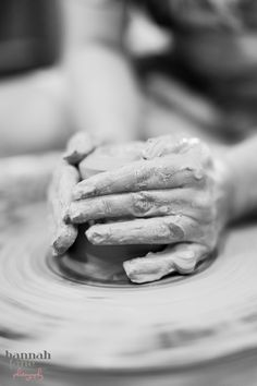 Throwing Pottery - HannahLane Photography
