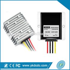 The led application use for cars power supply 36V dc to 24V dc motor