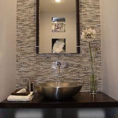 MAIN BATHROOM-Tile Around Mirror Design, Pictures, Remodel, Decor and Ideas