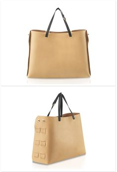 Make her happy this Christmas! With it's sleek design and smooth calfskin leather, this statement piece exudes contemporary elegance. Smooth, Tote Bag, Contemporary, Happy, Christmas, Leather, Gifts, Bags, Design
