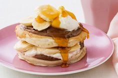 Try our Easy Banana Pancakes - they are crowd-pleasing pancakes made from scratch, with a fun twist on ordinary pancakes.