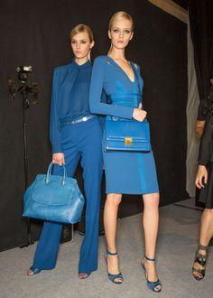 Blue Blue Blue!  Blue Color Trend forSpring Summer 2013.  Elie Saab Spring Summer 2013.   #Fashion #Trends