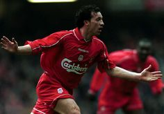 No.5: ROBBIE FOWLER (183 goals)    The Kop loved Robbie Fowler so much they christened him 'God'.