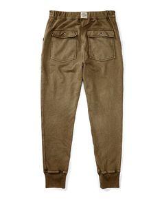 Cotton French Terry Sweatpant - Straight  Pants & Jeans - RalphLauren.com