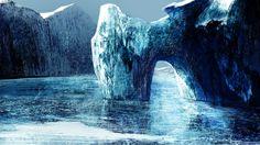 Glacier - Digital painting