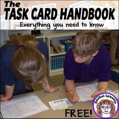 Whether you are wondering about using task cards in your classroom or have been using them for years, this free ebook is for you! This book will tell you: - Why task cards are such amazing teaching tools - The many ways they can be used - How to store pre Vocabulary Instruction, Vocabulary Practice, Differentiated Instruction, Teacher Hacks, Teacher Binder, Teacher Notes, Teaching Resources, Classroom Resources, Classroom Ideas