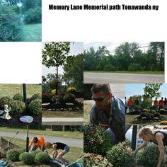Memory Lane Memorial path in honor of Jed Woomer