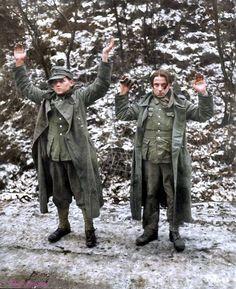 Young Germans Surrender.