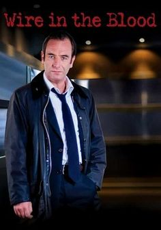 Enjoy this show. Wire in the Blood (2002) This tense British crime series follows the work of Dr. Tony Hill (Robson Green), a psychologist with a peculiar talent for understanding how serial killers think and for using that knowledge to help law enforcement apprehend them.