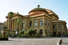 Palerme - Teatro Massimo 1875-81 - le plus grand de toute l'Italie