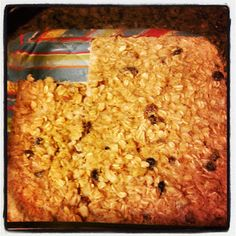 Oatmeal Raisin Protein Bars -eat clean