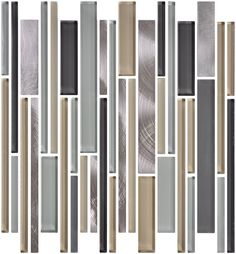 Cheap black and silver long strip glitter crystal glass mosaic indoor and outdoor decoration wall tile