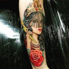 #umbanda #umbandasaber #Axé #Tatto #Gugo #Linda  Oi filhos(a) de Iansã Me diz aí oq achou ?  Perfeita né   Contato do Tatuador   Instagram: @gugotattoo   Endereço: Rua Aragoiânia67 - Vila Barros Guarulhos   http://ift.tt/1Kjmnuw  by umbandasaber