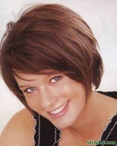 Cute hair styles for short hair Lovely Classic Bob Cut