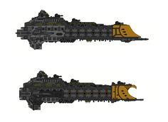 alphamecha: Warhammer 40K Faith Class Cruiser by Seeras