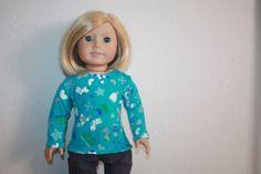 NEW  Longsleeved Winterwear Tee for American Girl by LostinaJungle, $12.00