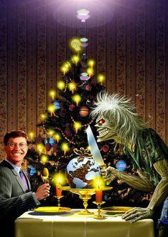 *m. Merry Christmas! Conheça todos os cartões de natal do Iron Maiden | IRON MAIDEN 666 - BRASIL