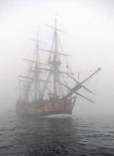 Pirate ship in the fog by Cliff Wassmann The Pirate King, Pirate Queen, Book Aesthetic, Character Aesthetic, Arte Steampunk, Bateau Pirate, Fable, Pirate Life, In Vino Veritas