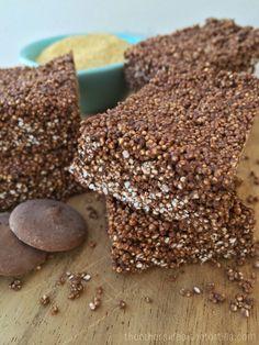 Mexican Chocolate Amaranth Bar recipe using Wilton Candy Melts on theothersideofthetortilla.com