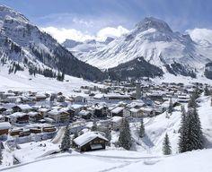 Lech am Arlberg, Österreich: Teil des Skigebiets Ski Arlberg, schneesicher und viele unpräparierte Skirouten, Highlight: Der weiße Ring. http://www.sonnenburg.at/winter-sport-arlberg.html
