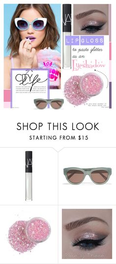 """""""Beauty Tips: One Product, Two Ways!"""" by bklana ❤ liked on Polyvore featuring beauty, NARS Cosmetics, Elizabeth and James, Beauty, twoways and bklana"""