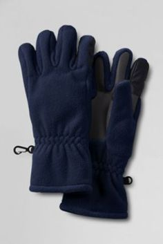 Kids' Solid ThermaCheck®200 Gloves from Lands' End