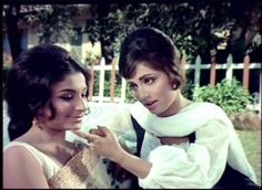 Sadhana with Sharmila Tagore in Waqt / Sadhana - Hamara Photos