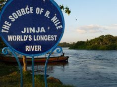 The Source of the Nile in Uganda. I was there! It was beautiful and... Can I go back?