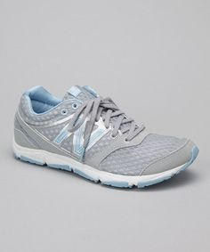 Take a look at this Gray & Light Blue 730v2 Running Shoe - Women by New Balance on #zulily today!