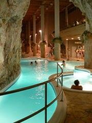 The Cave Bath at Miskolc-Tapolca, Hungary. Yep I'm going to chill out here too.