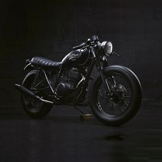 Murdered out . Honda CB400SS