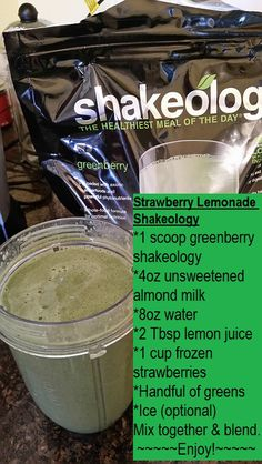 Greenberry shakeology healthy recipe healthy smoothie   www.michellesolberg.com