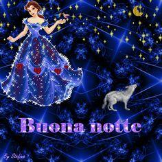 Romantic Good Night Image, Cute Good Night, Italian Greetings, Animation, Disney Princess, Pitta, Wonderful Images, Good Afternoon, Nighty Night